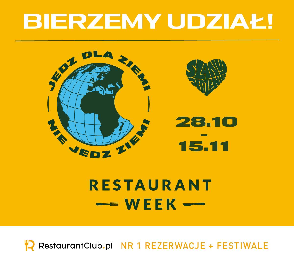 Restaurant Week Polska 2020